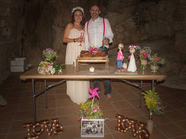 La boda de Luis y Luza en Fresnedilla De La Oliva, Madrid 60