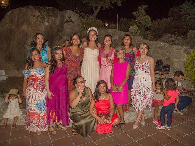 La boda de Luis y Luza en Fresnedilla De La Oliva, Madrid 65