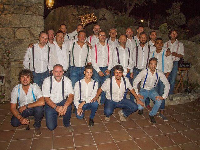La boda de Luis y Luza en Fresnedilla De La Oliva, Madrid 66