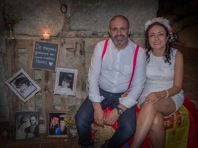 La boda de Luis y Luza en Fresnedilla De La Oliva, Madrid 67