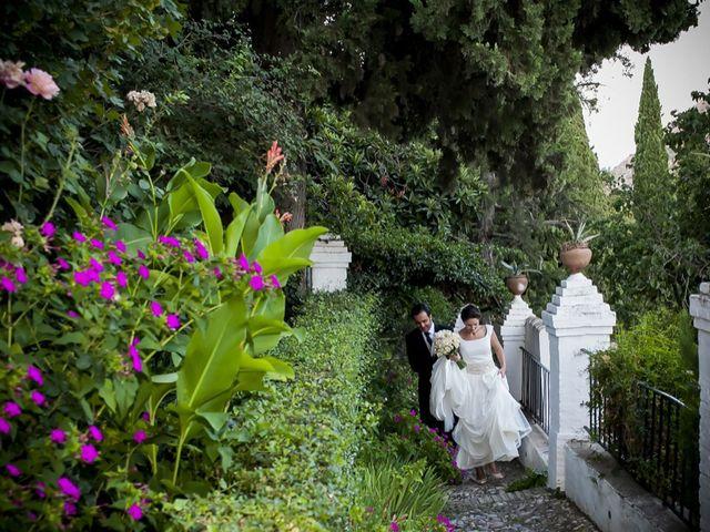 La boda de Marco y Rosa en Granada, Granada 34