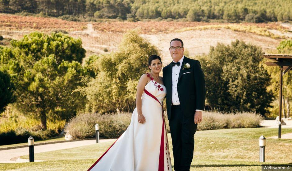 La boda de Omar y Ana Isabel en Fuenmayor, La Rioja