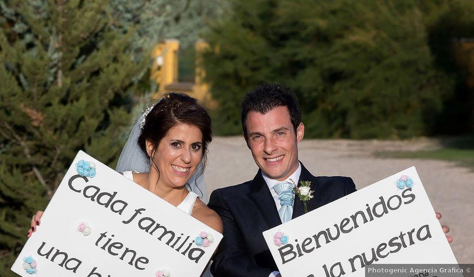La boda de Alberto y Diana en Hornillos De Eresma, Valladolid