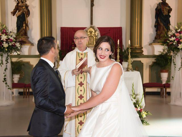 La boda de José y Adela en Rioja, Almería 34