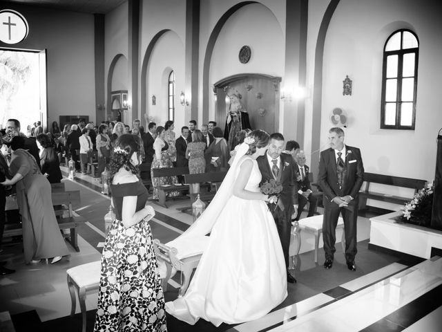 La boda de José y Adela en Rioja, Almería 37