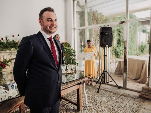 La boda de Hanno y Miriam en Fuente Vaqueros, Granada 45