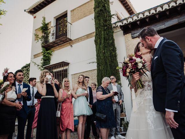 La boda de Hanno y Miriam en Fuente Vaqueros, Granada 62