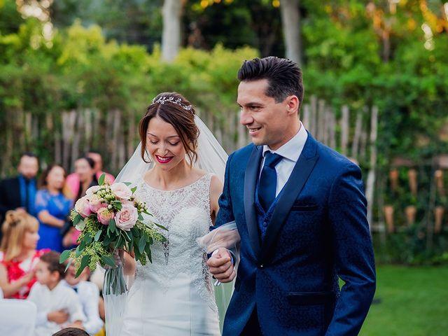 La boda de Dani y Nuria en Villanueva De Gallego, Zaragoza 17