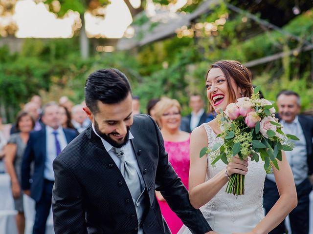 La boda de Dani y Nuria en Villanueva De Gallego, Zaragoza 19