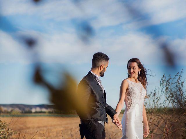 La boda de Dani y Nuria en Villanueva De Gallego, Zaragoza 32