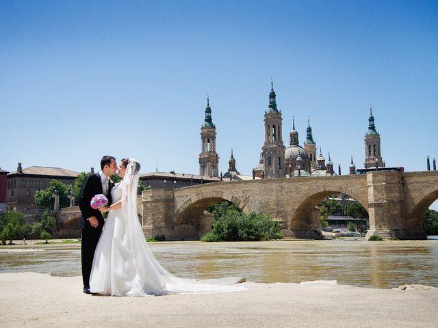 La boda de Pedro y Rocío en Zaragoza, Zaragoza 1