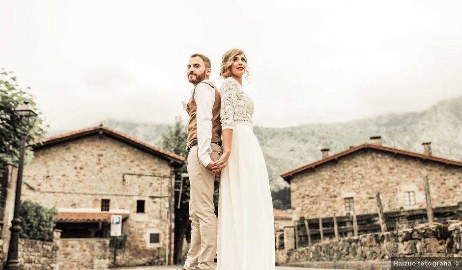 La boda de Jose y Lorena en Atxondo, Vizcaya