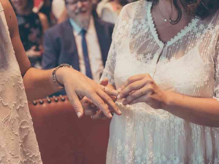 La boda de Paula y Ángela