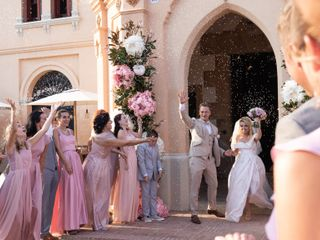 La boda de Eugene y Anna
