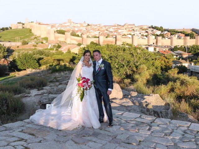La boda de Carlos y Vanessa en Ávila, Ávila 12