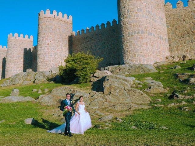 La boda de Carlos y Vanessa en Ávila, Ávila 18