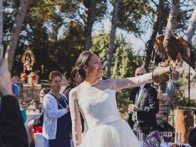 La boda de Cristian y Natalia en Chinchon, Madrid 41