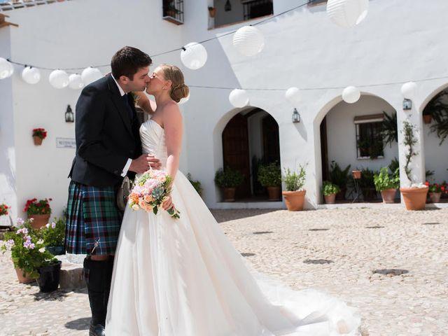 La boda de Ian y Alex en La Joya Nogales, Málaga 36