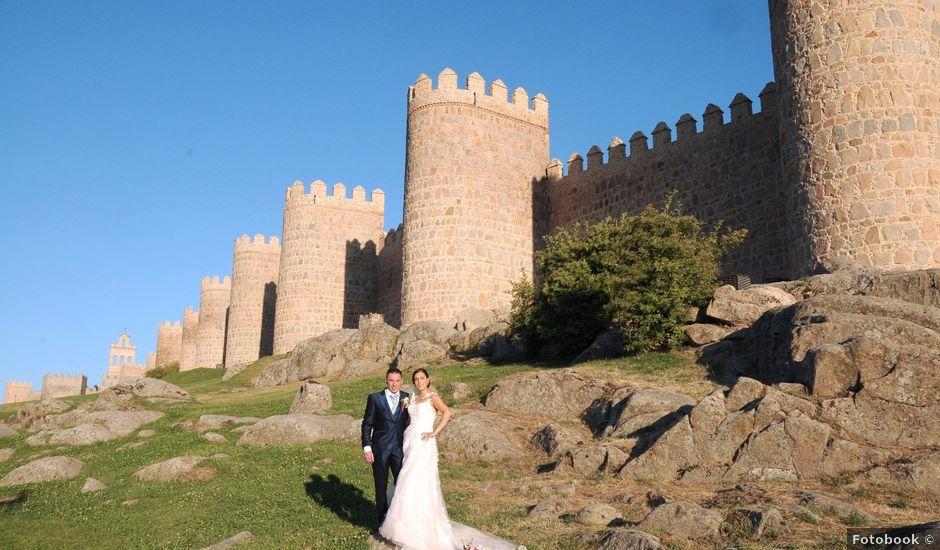 La boda de Carlos y Vanessa en Ávila, Ávila
