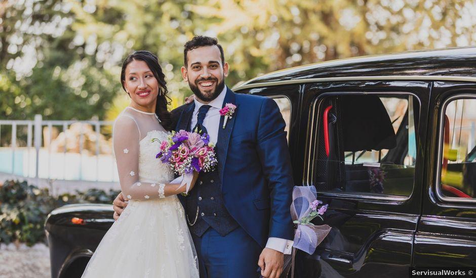 La boda de Cristian y Natalia en Chinchon, Madrid