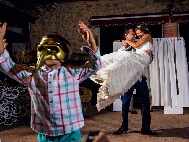 La boda de Juan  Antonio y Patricia en Saelices, Cuenca 45