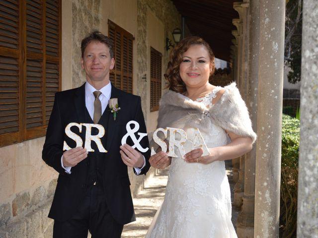 La boda de Daniel y Diana en Esporles, Islas Baleares 16