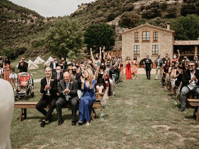 La boda de Albert y Clara en La Quar, Barcelona 56