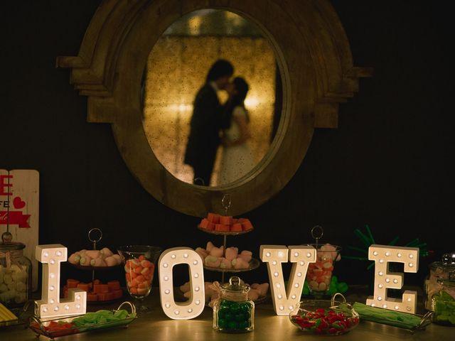 La boda de Ixone y David