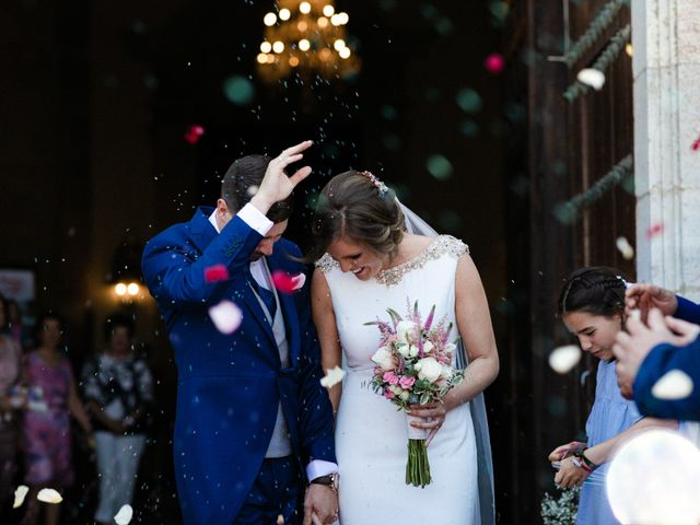 La boda de Miguel y Elena en Llerena, Badajoz 32
