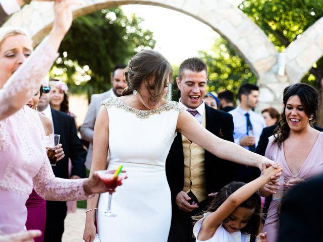 La boda de Miguel y Elena en Llerena, Badajoz 69