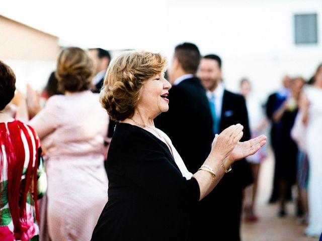 La boda de Miguel y Elena en Llerena, Badajoz 73