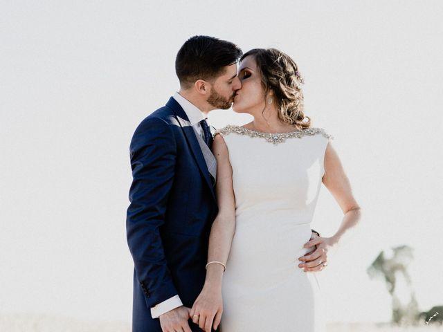 La boda de Miguel y Elena en Llerena, Badajoz 79