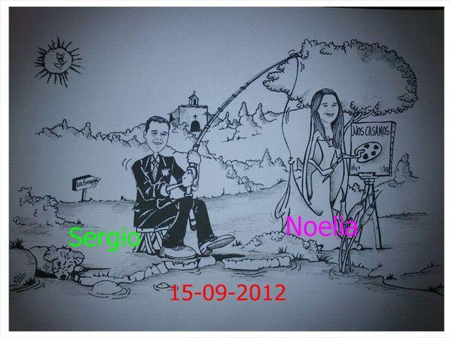 La boda de Sergio y Noelia en Segovia, Segovia 5