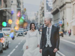 La boda de Lorena y Santi