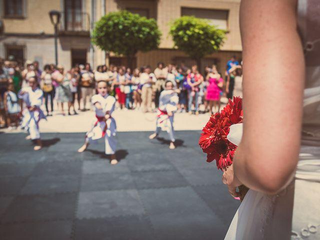 La boda de Enrique y Luisa en Navarrete, La Rioja 80