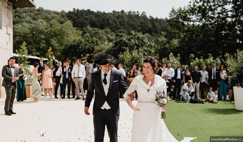 La boda de Ane y Unai en Astigarraga, Guipúzcoa