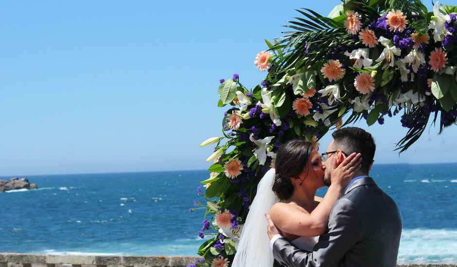La boda de Diego y Romi en Oia (Santa Maria De ), Pontevedra