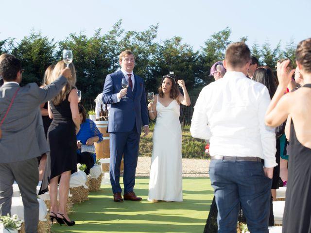 La boda de Kim y Vish