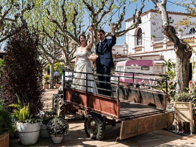 La boda de Daniel y Jessy en L' Ametlla Del Valles, Barcelona 36