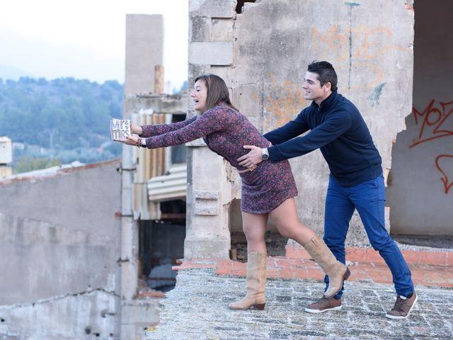 La boda de David y Inma en El Puig, Valencia 3