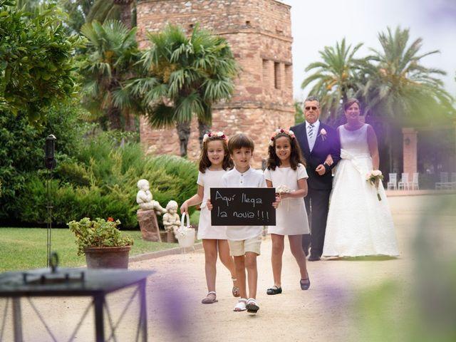 La boda de David y Inma en El Puig, Valencia 15