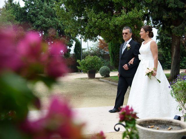 La boda de David y Inma en El Puig, Valencia 16