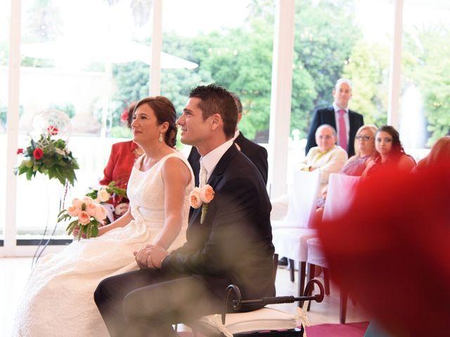 La boda de David y Inma en El Puig, Valencia 17