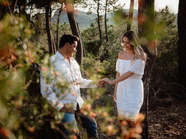La boda de Scott y Mary en Riba-roja De Túria, Valencia 1