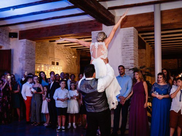 La boda de Scott y Mary en Riba-roja De Túria, Valencia 77