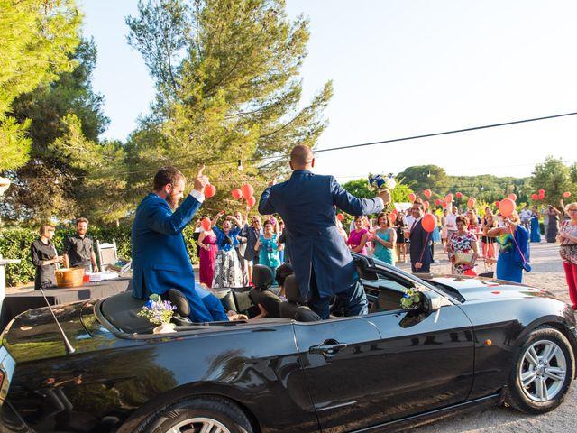 La boda de Fran y Marta en Cunit, Tarragona 79