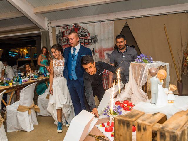 La boda de Fran y Marta en Cunit, Tarragona 130