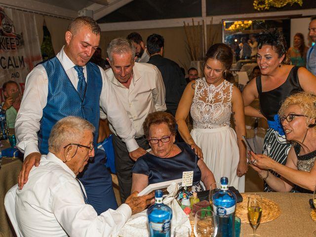 La boda de Fran y Marta en Cunit, Tarragona 140