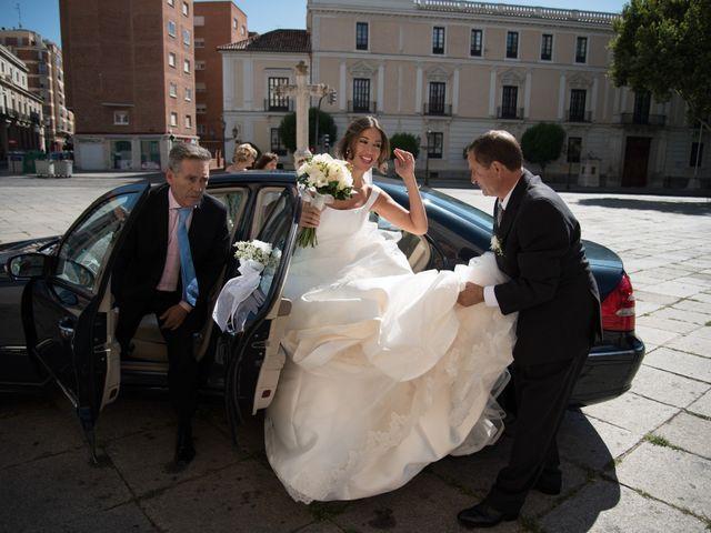 La boda de Sergio y Estefania en Quintanilla De Onesimo, Valladolid 21