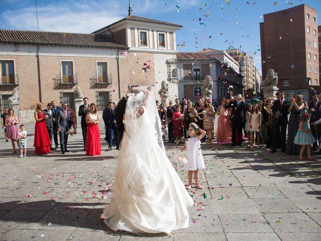 La boda de Sergio y Estefania en Quintanilla De Onesimo, Valladolid 28